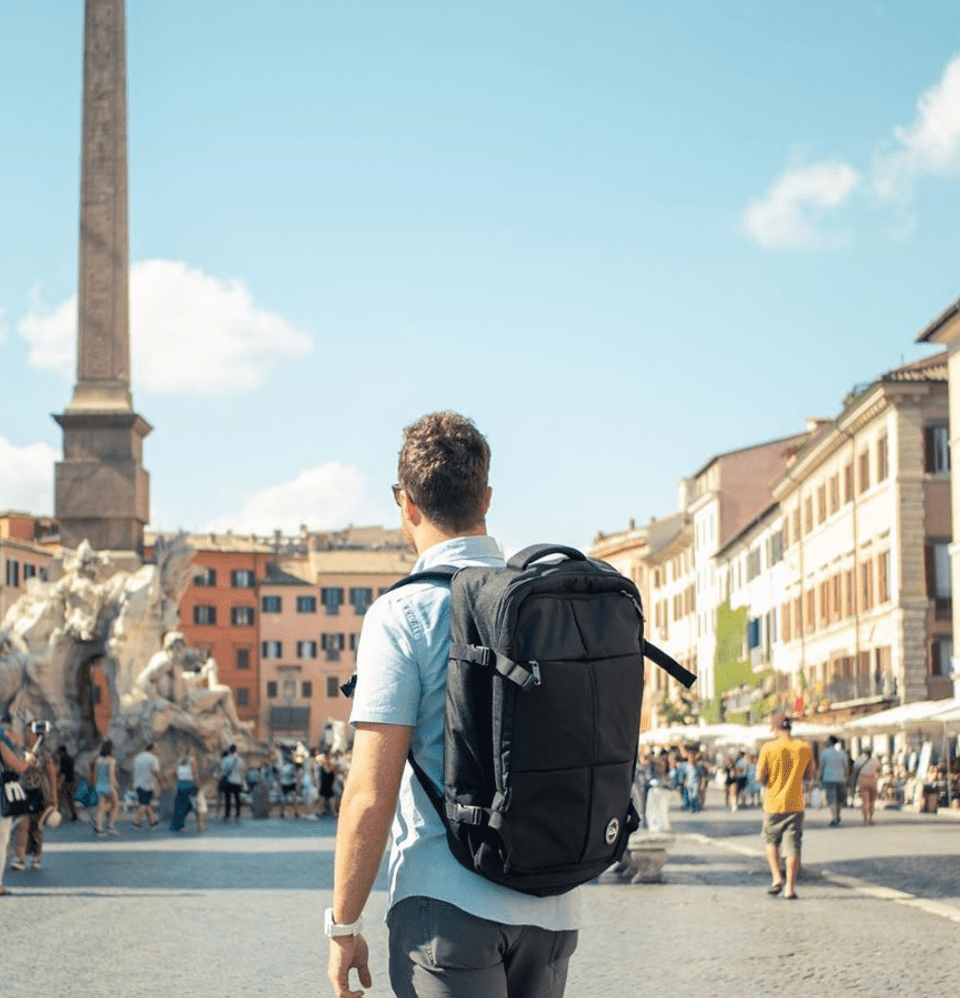 Uppsala Expandable Lightweight Cabin Backpack - Cabin Max