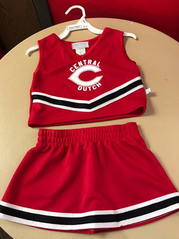 Toddler/Youth Cheer Dress