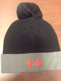 Hat Solid Pom Beanie