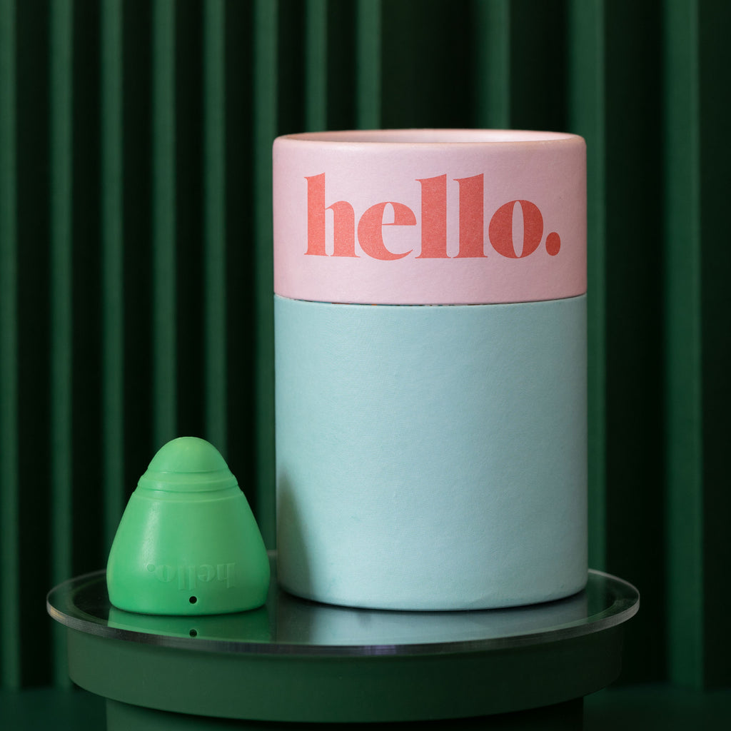 Hello Cup Low Cervix menstrual cup small/medium