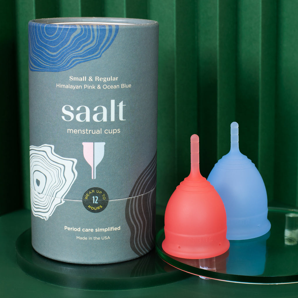 saalt cup duo pack with small and regular