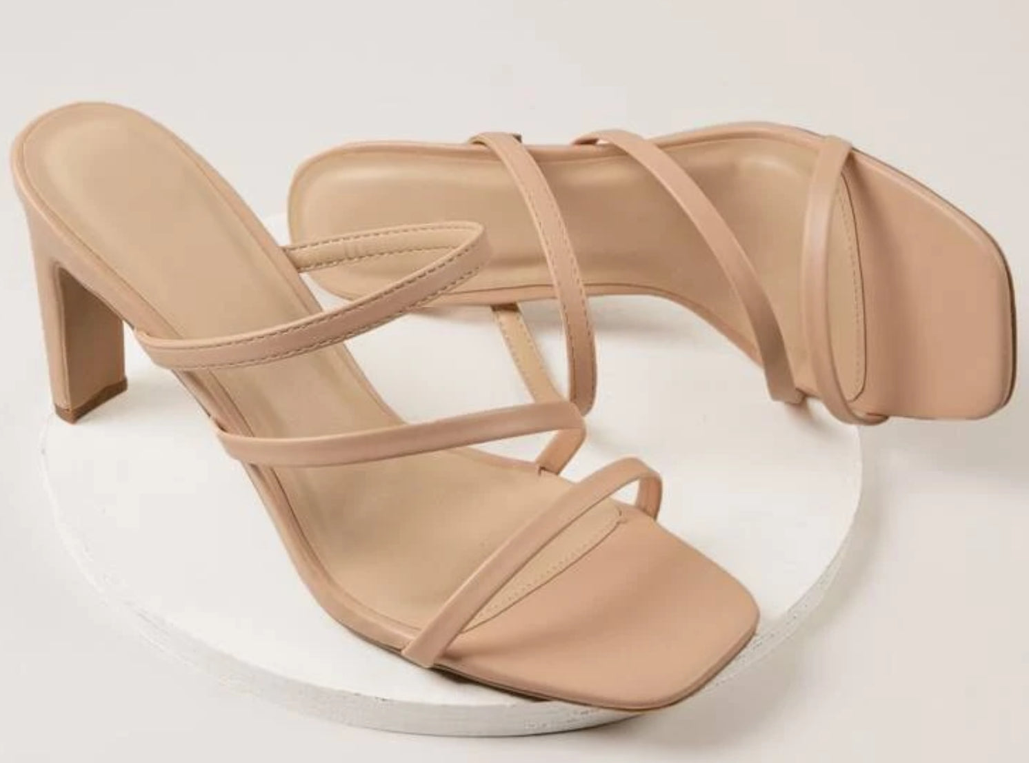 Kass - High heel - Beige