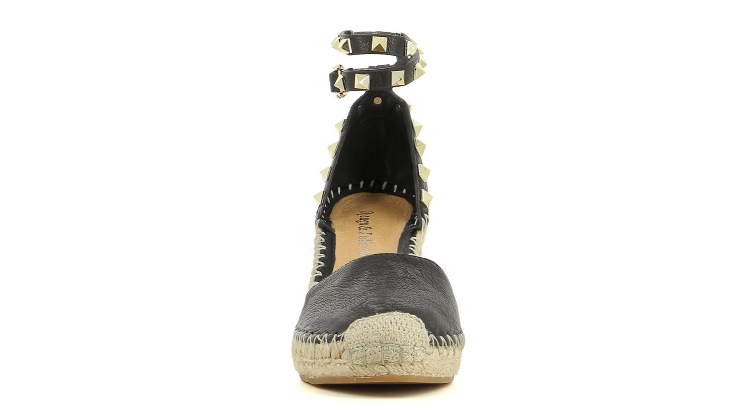 Rock stud Wedge - Black