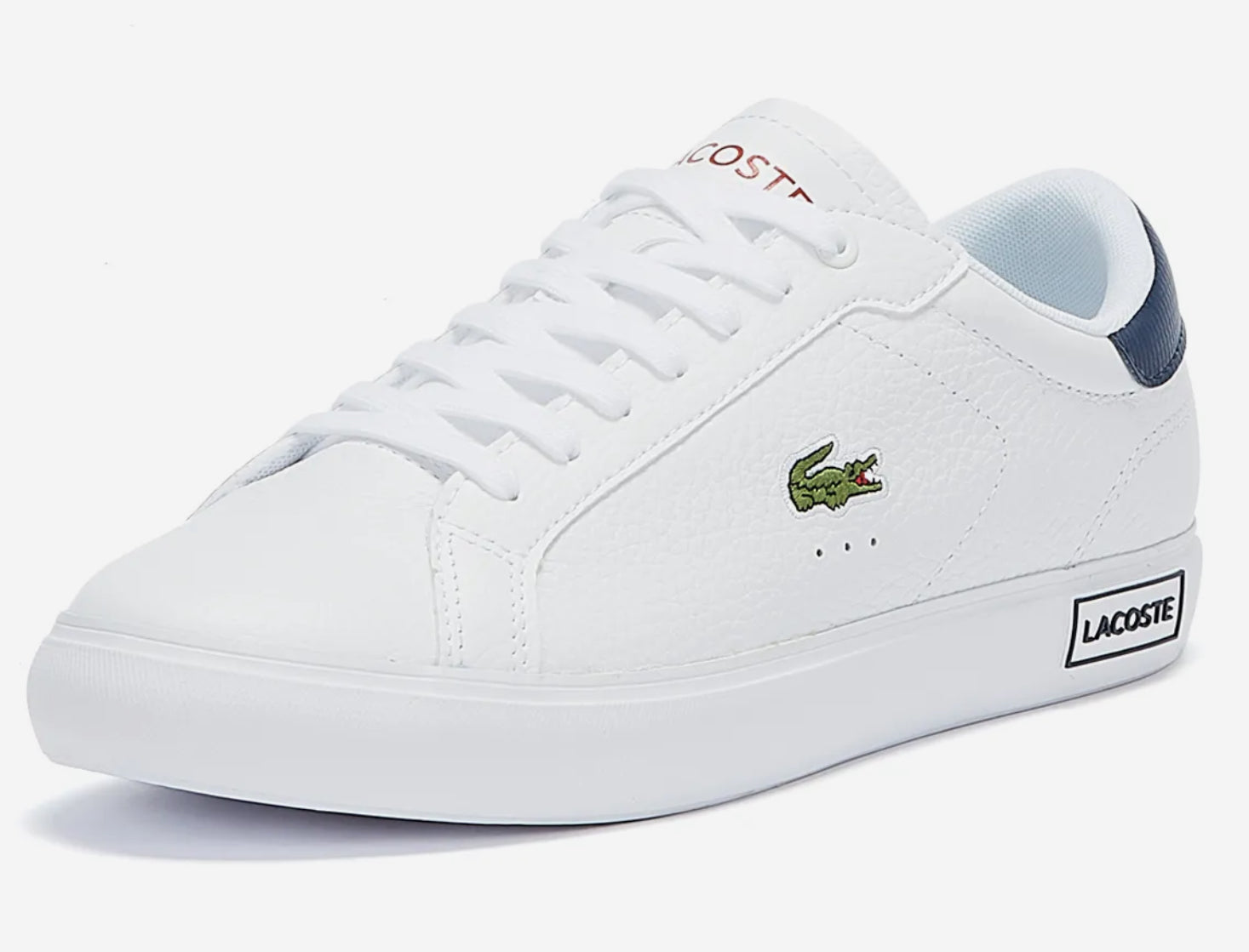 Lacoste - Powercourt- White/Navy