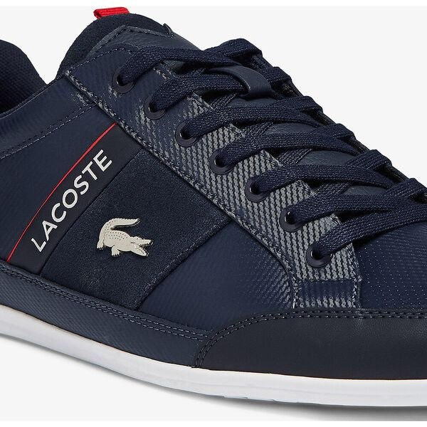 Lacoste - Chaymon Leather & Suede - Navy/White