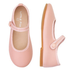 Little Fox Mary-Jane shoes - Pink