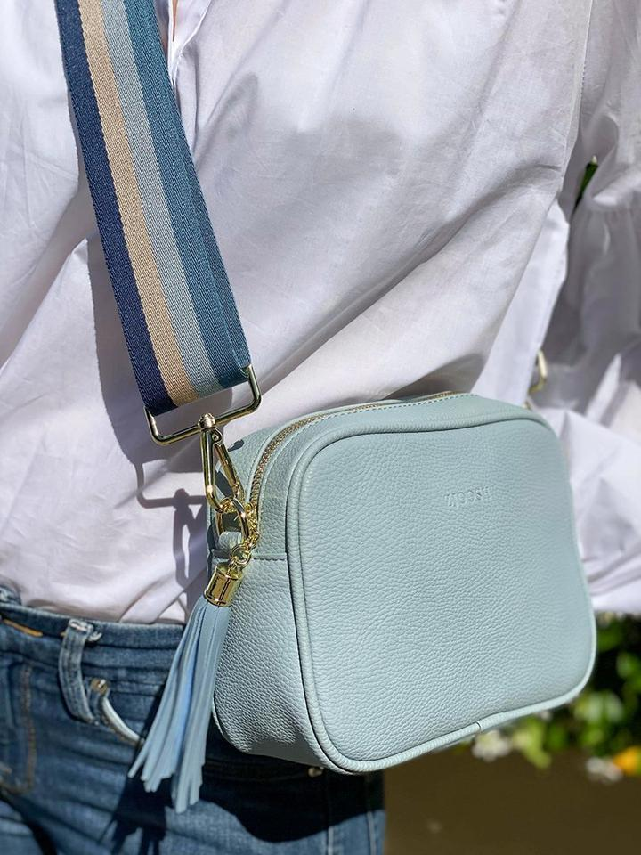 Ruby Sports Cross body Bag - Powder Blue