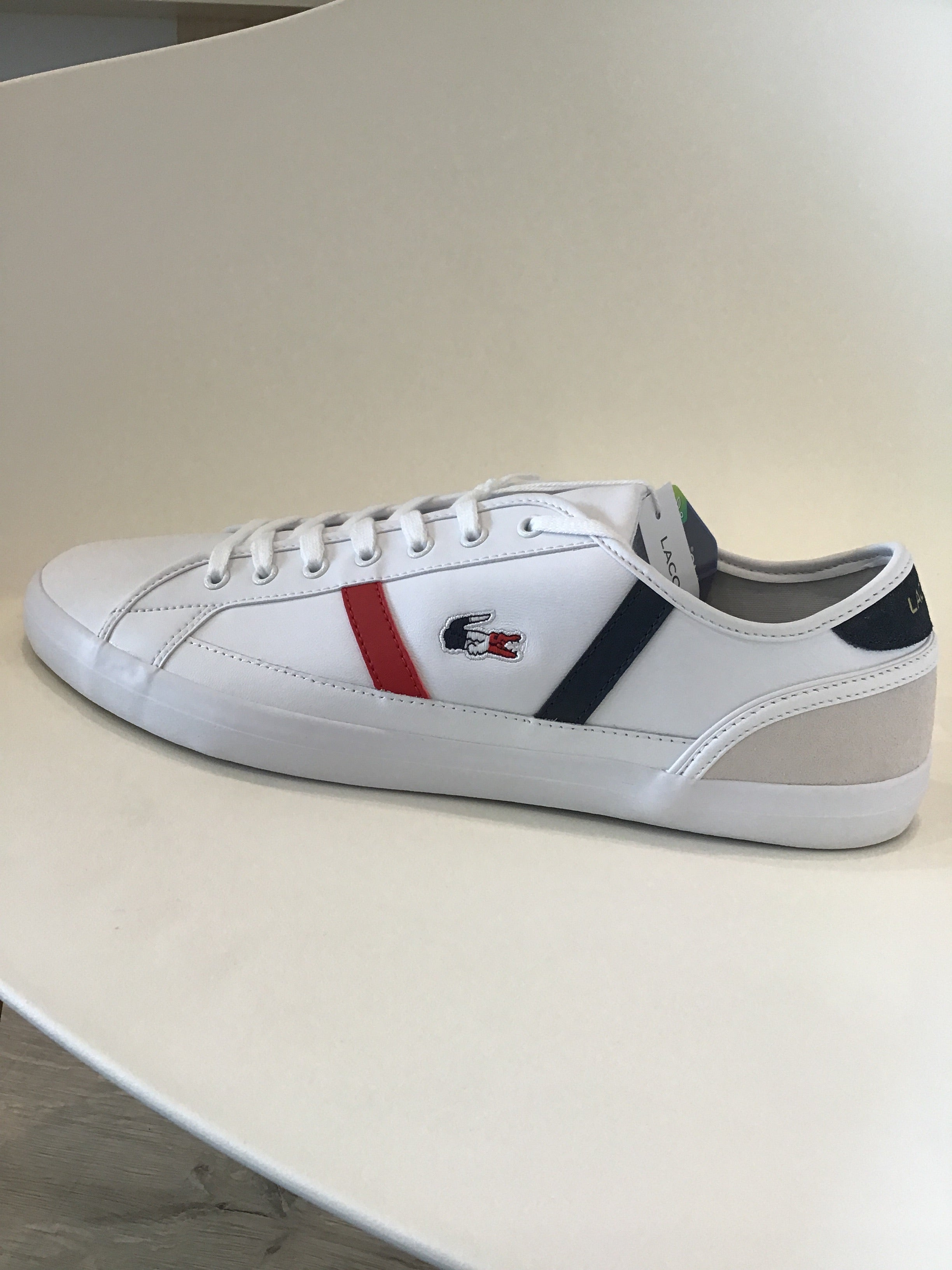 Lacoste- Sideline - White/Navy/Red