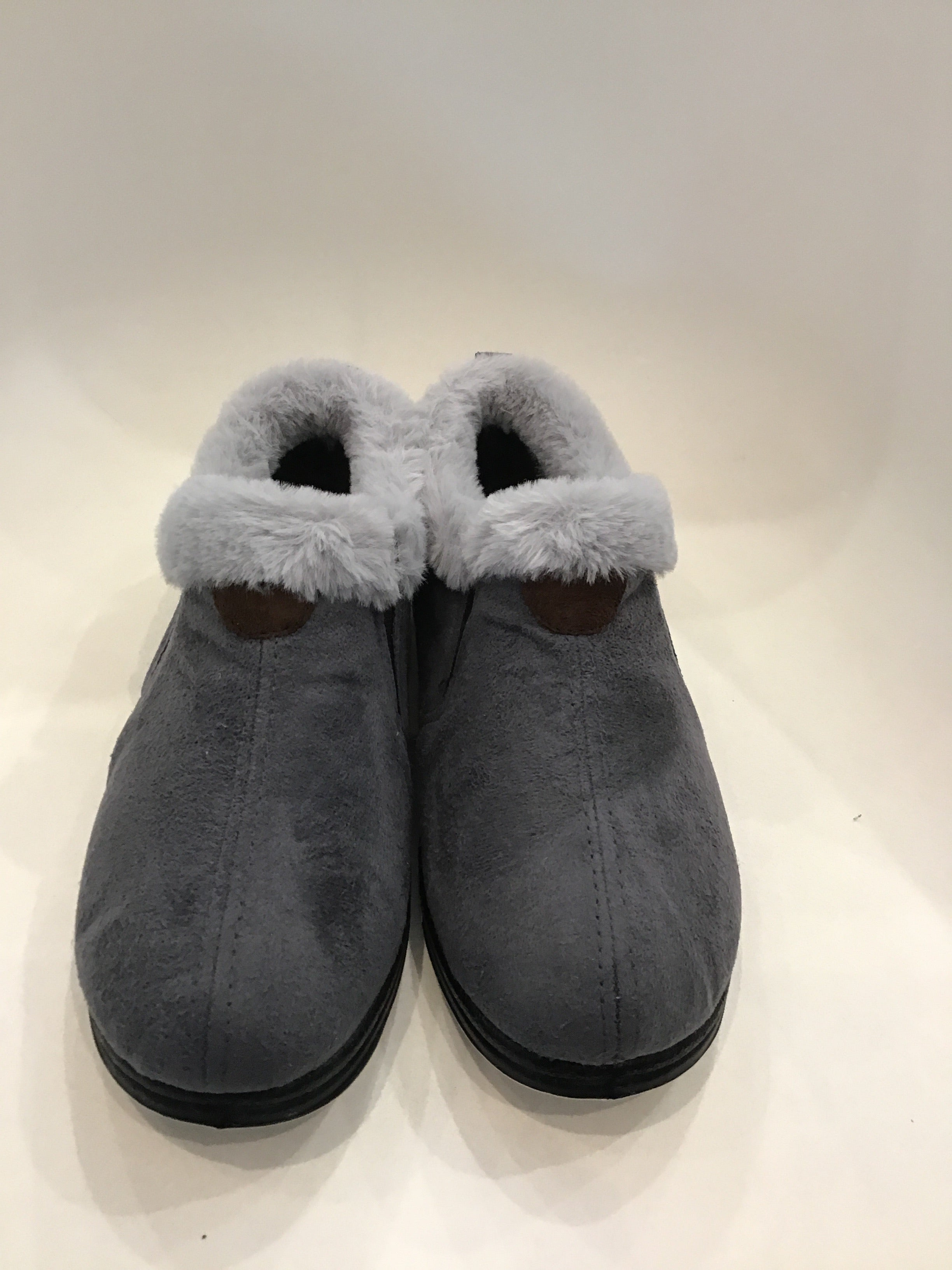 Elivia Slipper - Grey