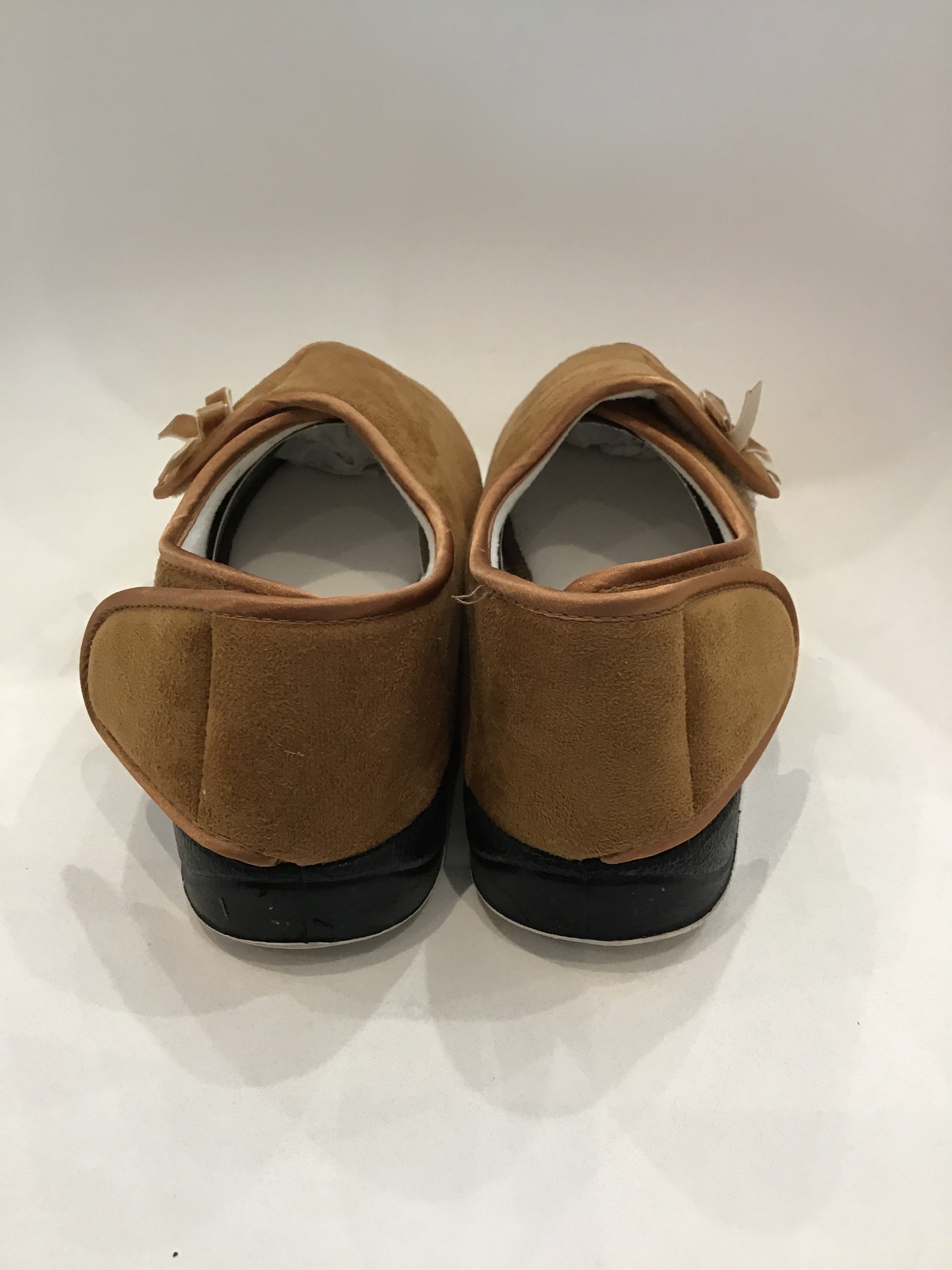 Elinora Slipper - Chestnut