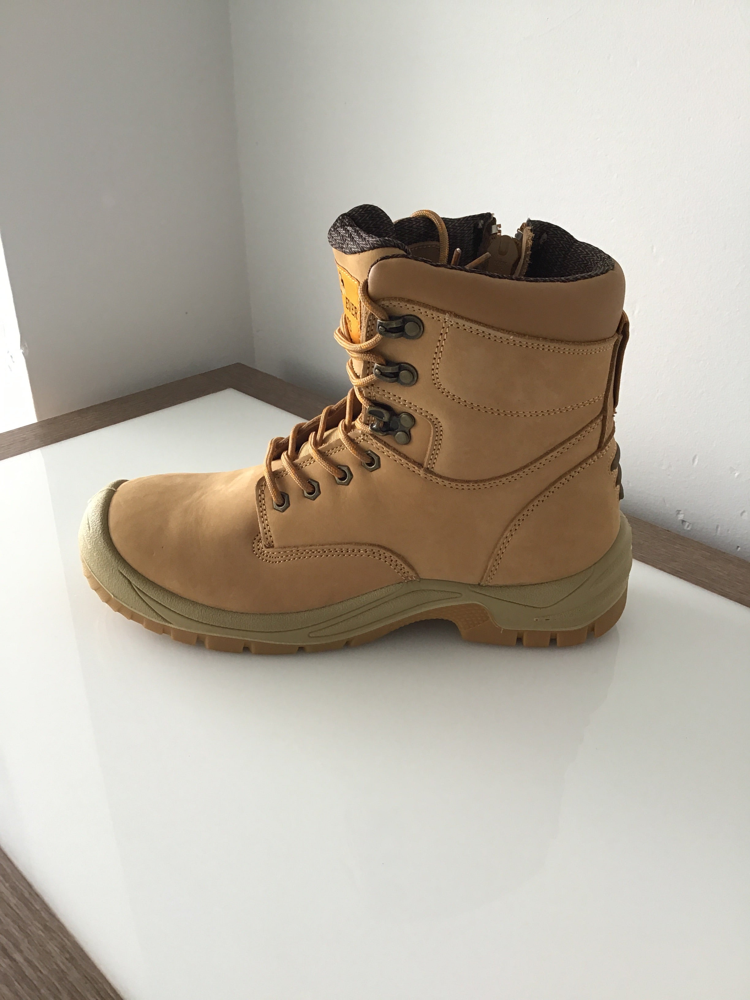 Best Ever Boots - Hawk Safety work boots - steel cap
