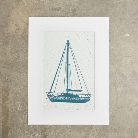 "Dropping Anchor | 18""x24"" 
