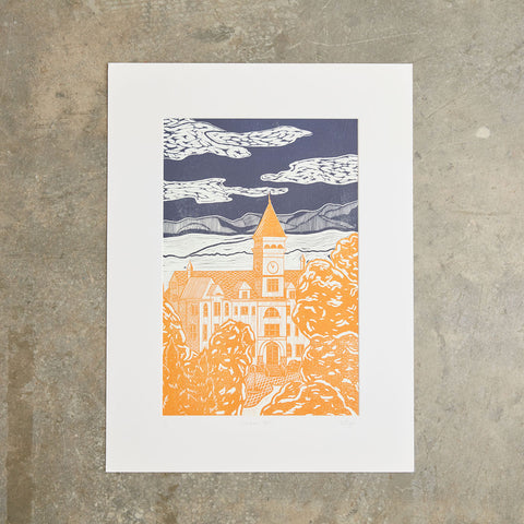 "Tillman Hall | 18""x24"" 