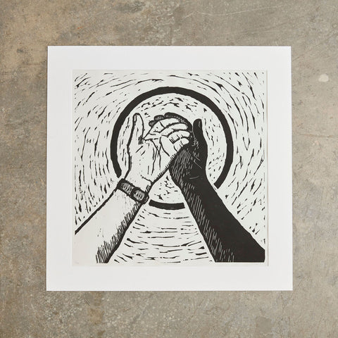"Open Hands | 24"" x 24"" 