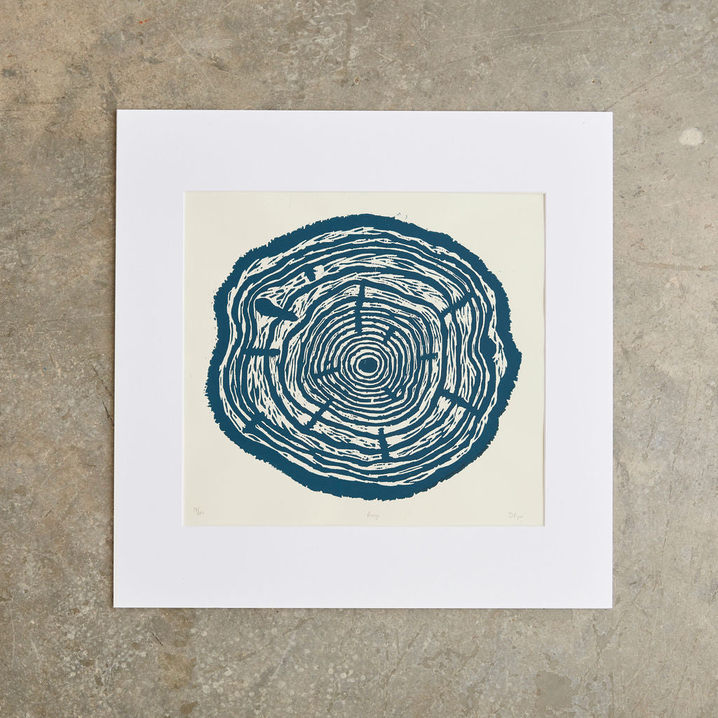 "Rings | 18"" x 18"" 