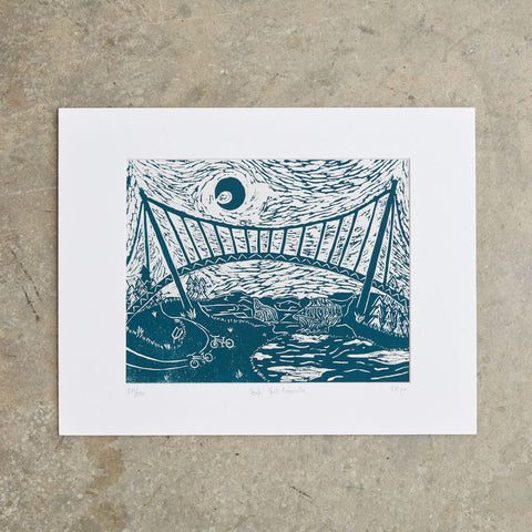 "Yeah That Greenville | 11""x14"" 