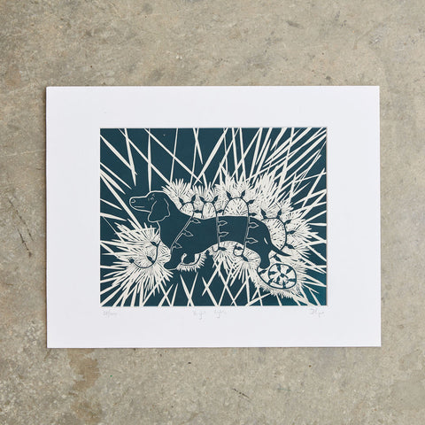 "Bright Lights | 11""x 14"" 