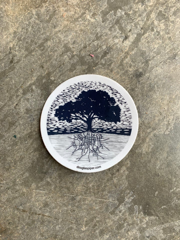 Downtown Roots Sticker