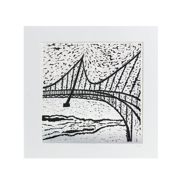 "Liberty Bridge | 24"" x 24"" 