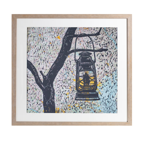 "Light the Way | 22.5"" x 22.5"" 