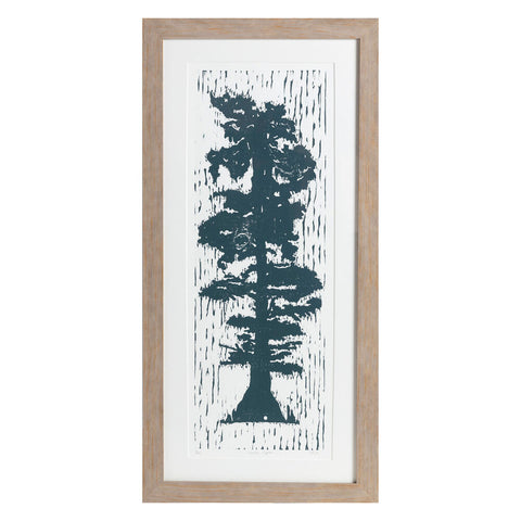 "Lonesome Cypress | 32"" x 14.25"" 