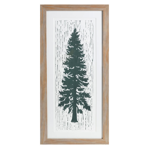 "Lonesome Fir | 32"" x 14.25"" 