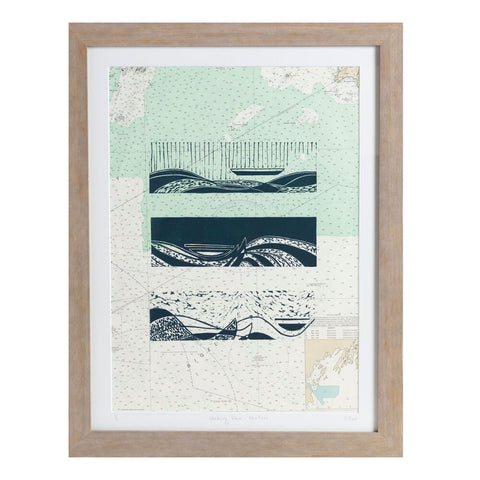 "Wandering Waves | 20.5"" x 26.5"" 