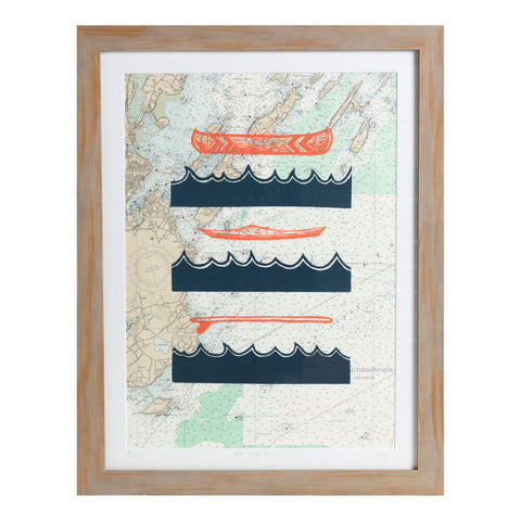 "Water Ways | 20.5"" x 26.5"" 