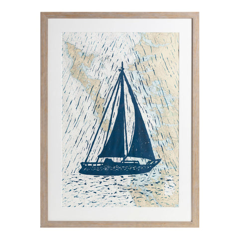 "Full Sail | 30"" x 42"" 
