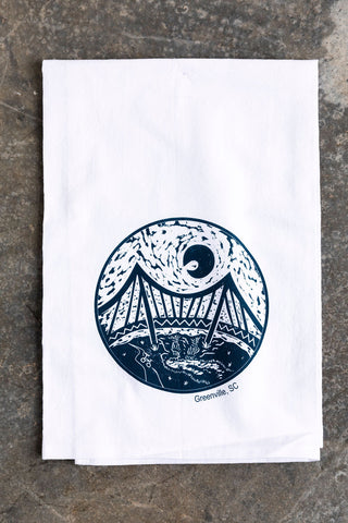 Falls Park Tea Towel