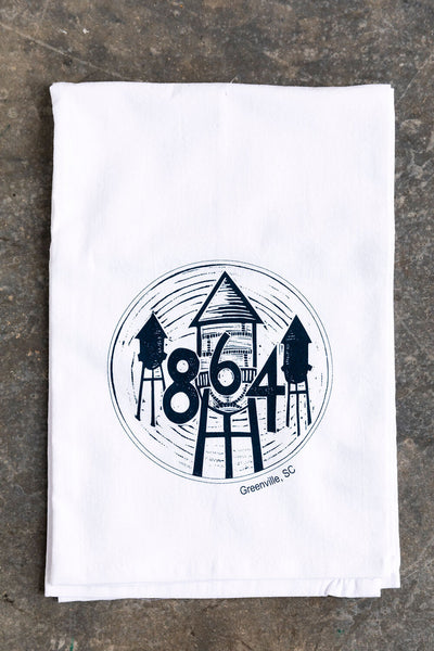 The 864 Tea Towel