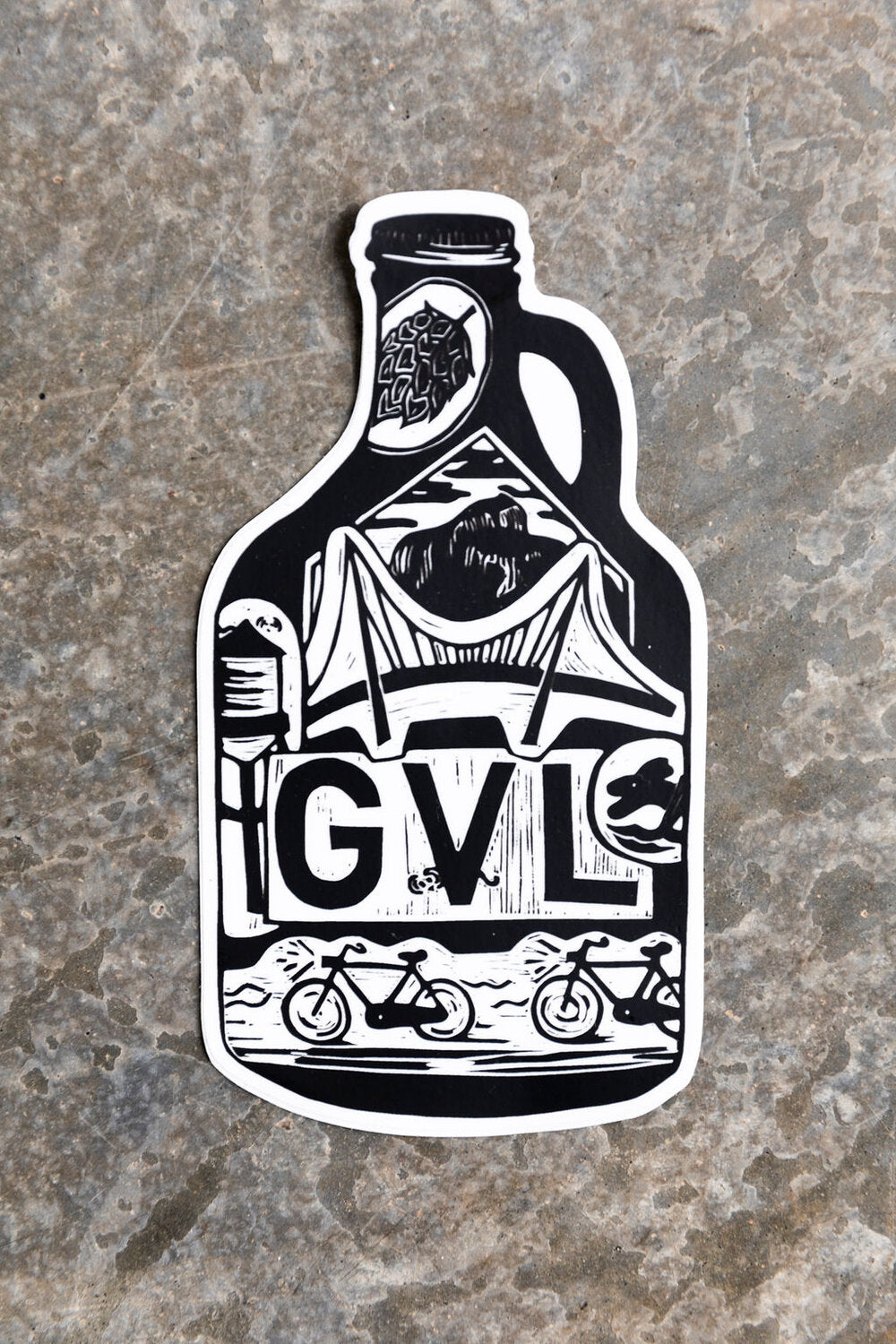 GVL Growler Magnet