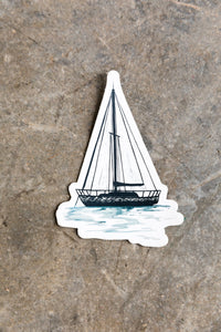 Dropping Anchor Sticker