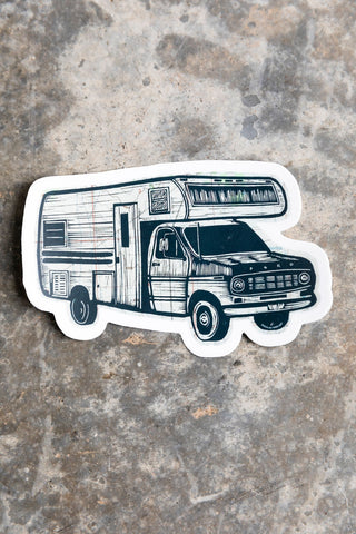 Portable Castle Sticker