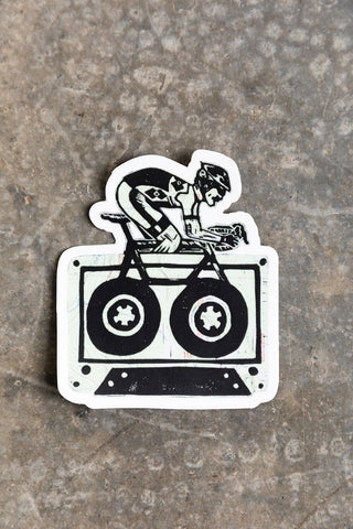 Le Tour De Cassette Sticker