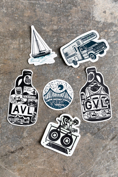 AVL Growler Sticker
