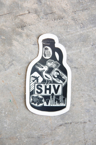SVH Growler Sticker
