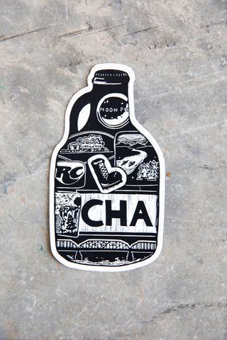 CHA Growler Sticker