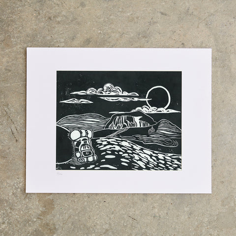 "Table Rock | 11""x14"" 