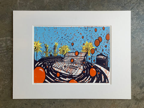 "The Most Exciting 25 Seconds in College Football | 18"" x 24"" 