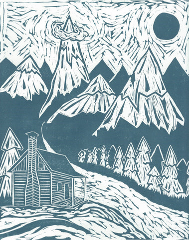 "The Wilderness | 11""x14"" 