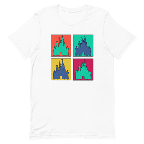Magic Kingdom Pop Art Unisex T-Shirt