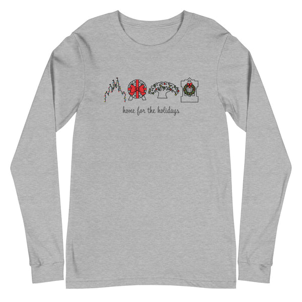 Home for the Holidays Unisex Long Sleeve Tee