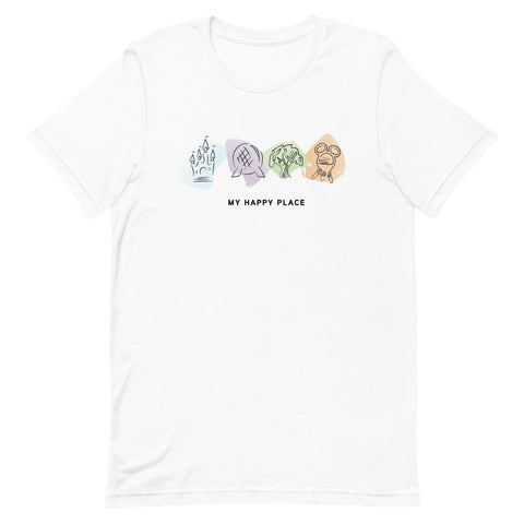 My Happy Place Unisex T-Shirt