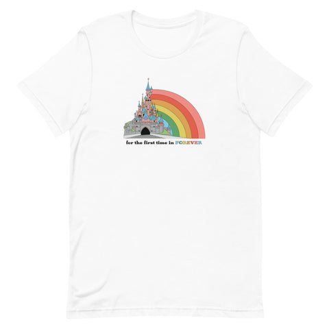 First Time in Forever - Disneyland Paris Unisex T-Shirt