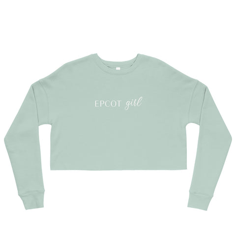 Epcot Girl Crop Sweatshirt