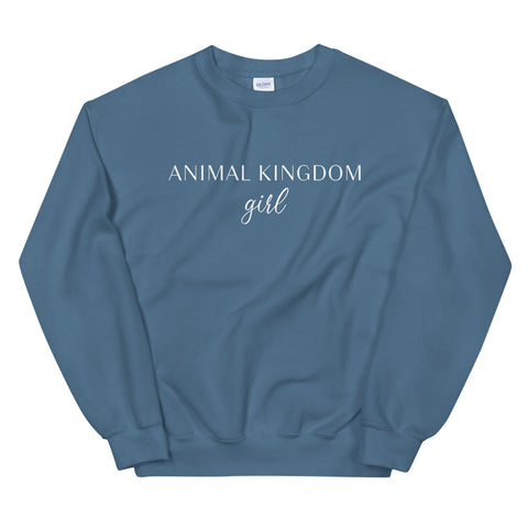 Animal Kingdom Girl Unisex Sweatshirt