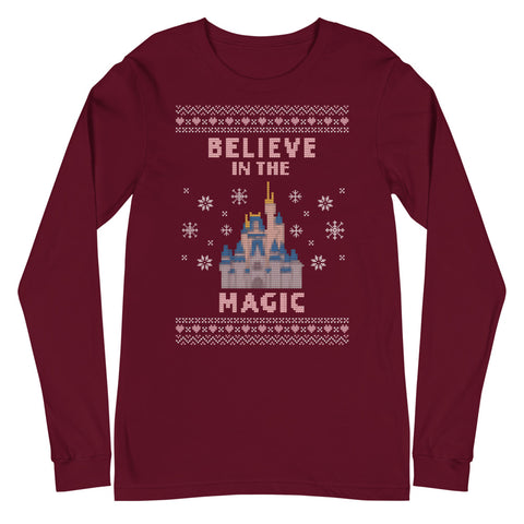 Believe in the Magic WDW Unisex Long Sleeve Tee