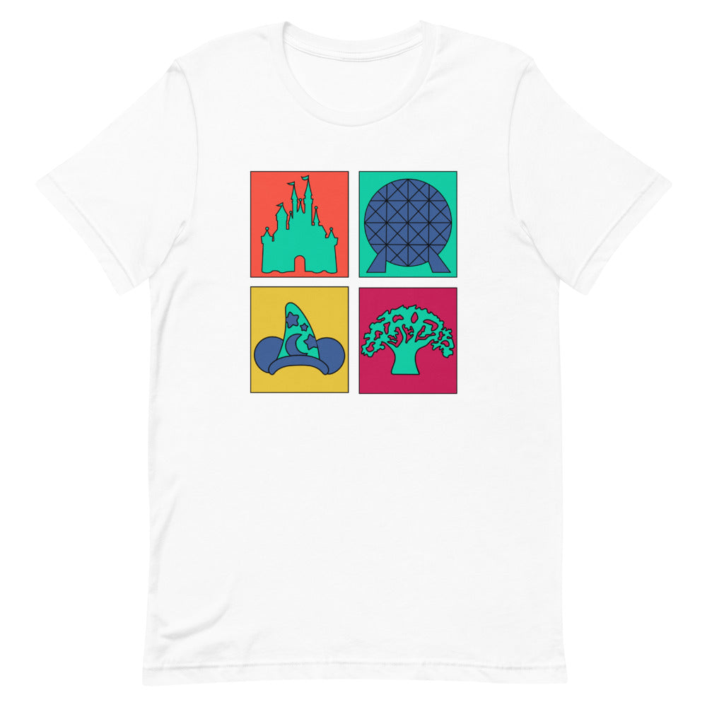 Four Parks Pop Art Unisex T-Shirt