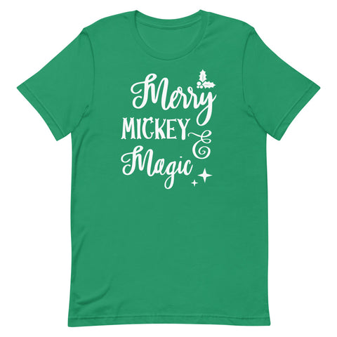 Mickey Merry Magic Short-Sleeve Unisex T-Shirt